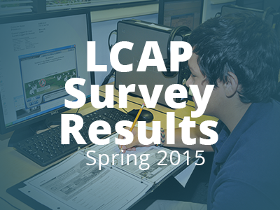 LCAP Survey Results Presented at AdCab